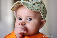Cute (Rufino Uribe) Tags: portrait people baby cute face eyes infant child retrato nia beb  menina glance bambina ternura sugling   rufinouribe samanthavictoria