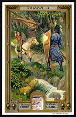 Liebig Tradecard S909 - The Legend of Roland (cigcardpix) Tags: vintage advertising ephemera liebig chromo tradecards