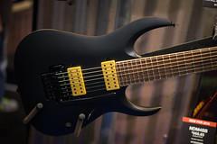 Ibanez Jake Bowen Signature 7 (paul_ouzounov) Tags: musician music shop guitar bare knuckle guitars jackson custom esp prs namm kiesel 2016 carvin strandberg aristides zeiss55mm sonya7 namm2016