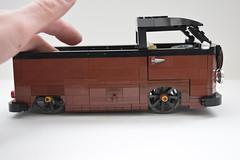vw split screen single cab pick up (redfern1950s) Tags: up vw lego cab screen single split pick