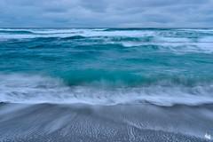 the power of water (Sandra Bartocha) Tags: sea meer waves turquoise atlantic lys lofoten sandrabartocha