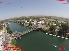 DU2 Walnut Grove 4b (Brad Bennett 2) Tags: bridge water river grove walnut 350 shore blade qx3 drone