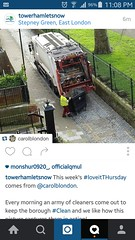 "My photo featured on ""Tower Hamlets now"" instagram account ! (Carol B London) Tags: road tarmac roadworks cobblestones e1 stepney londone1 towerhamlets stepneygreen eyesores lbth"