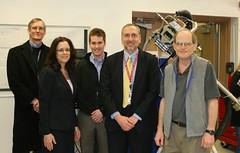 NASA LaRC Leadership Visits the SOLARIS RS Instrument at GSFC 2014 (The Science Directorate at NASA Langley) Tags: nasa rs solaris larc gsfc reflectedsolar clarreo