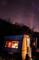 SIERRA CONSTELLATIONS (ColonelMustard&MadameDijon) Tags: travel sky mountains travelling youth stars spain europe nevada sierra adventure espana backpacking caravan lanjaron constellations