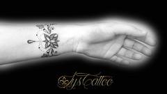 bracelet poignee gauche Marine bis (lystattoo) Tags: tattoo bracelet triquetra tatouage poignet triskel ferique dotting dotwork elfique