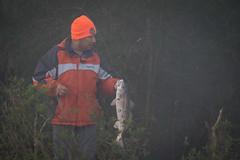 Breakfast (gseloff) Tags: fog fisherman texas pasadena redfish kayakphotography gseloff horsepenbayou