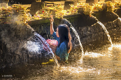 Holy Spring Water Temple (Ed Kruger) Tags: morning travel blue sky bali woman sun sunlight history water girl yellow lady clouds indonesia temple spring women asia southeastasia asians religion january culture wave holy spiritual copyrights hindu allrightsreserved 2016 travelphotography peopleofasia sunriser wholly asiancities tirtaempul edkruger asiancountries cultureofasia photosofasia abaconda qfse holyspringwatertemple kirillkruger rodkruger millakruger purifiacation