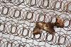 Remains (Doris Burfind) Tags: trash bed garbage rust georgetown springs coil mattress