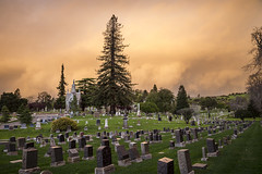 Supernatural Storm (LifeLover4) Tags: storm cemetery interestingness interesting explore explored lifelover4 stickneydesign
