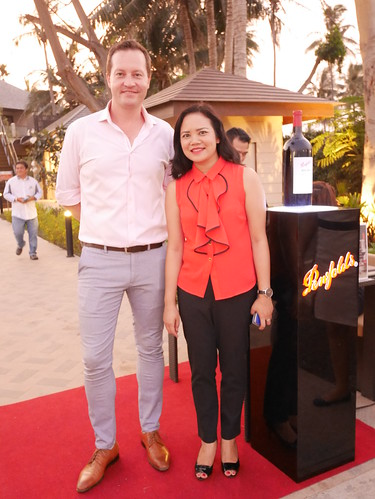 Penfolds Wine tasting at Luna La Pran Restaurant