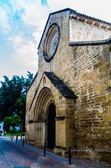 Portada de La Magdalena (mabej2014) Tags: real puerta san torre iglesia campana lorenzo cordoba rey fernando campanario portada gotico roseton