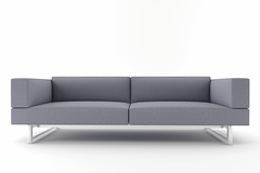 3d gray sofa isolated on white background (memory123451234) Tags: new white home leather fashion comfortable modern illustration design living 3d apartment furniture background interior render seat lounge gray style couch indoors sofa domestic chrome single luxury isolated divan elegance lifestyles threedimensional
