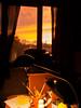 Running away from risk (boundlost) Tags: orange sun black window lamp contrast cozy hurt motivator risk running olympus workspace runningaway windowlight ep2 17mm boundlost