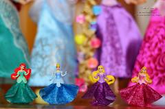 Princess 01 (Lindi Dragon) Tags: ariel doll dolls disney kinder aurora disneystore disneyprincess