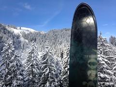 Vue du tlcabine: promesse d'une belle journe de ski (Jauss) Tags: ski alps alpes sterreich neige alpen tyrol autriche kitzbhel hahnenkammbahn streif
