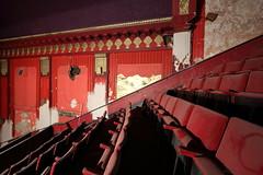 Forum Cinema (scrappy nw) Tags: uk cinema abandoned film architecture liverpool canon decay films forgotten urbanexploration seats abc leisure derelict citycentre urbanexploring ue urbex scrappy cannoncinema abccinema scrappynw canon750d