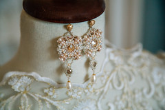 Baroque style (yana_davydova) Tags: wedding bride earrings bridal baroque orecchini