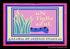 Cholula, Mexico (Marc Funkleder Photography) Tags: pink blue color rose mexico nikon colorful bleu mexique d200 pancarte cholula couleur enseigne nikond200 2470mm28 outdoorsign