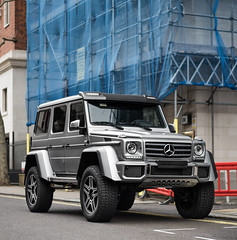 4x4 (Alexbabington) Tags: london cars car grey mercedes 4x4 german mercedesbenz supercar squared amg supercars gwagon alexbabington