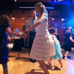 Dancing Dress (michael.veltman) Tags: wedding usa mike allison lodge september il starvedrock albrecht starvedrocklodge veltman