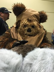 Ewok meets Tribbles
