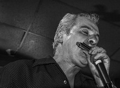 Blowin' (MarcCooper_1950) Tags: california musician monochrome losangeles nikon blues vocalist harp bianco nero harmonica lightroom harpist tarzana rjmischo d810 marccooper cadillaczack mauisugarmillsaloon