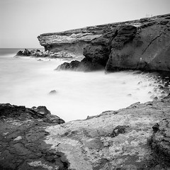 five ghosts (christian baron) Tags: longexposure 6x6 nature square fuerteventura hasselblad tmax100 distagon lapared bwfilm 503cw filmisnotdead classicblackwhite mindinrewind frontiersp3000 meinfilmlab wwwmeinfilmlabde