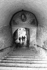 Salita dei Borgia (Fabio Gentili Photography) Tags: bw italy rome roma bn coliseum foriimperiali colosseo