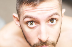 (Damien Cox) Tags: uk portrait selfportrait man male me face self ego myself beard eyes nikon masculine moi upclose autorretrato scruff stubble i damiencox damiencoxcouk