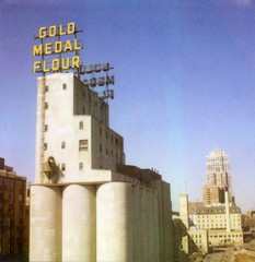 Gold Medal (jbhalper) Tags: mill polaroid gold downtown minneapolis medal 600 flour expired goldmedal slr680 roid goldmedalflour polaroidweek roidweek