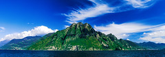 Lago And Mountains (Pino Snorr) Tags: italien italy mountains lago italian italia iseo