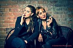 Smoking! (pickup2sticks 6 million views) Tags: uk girls woman sexy girl beautiful women pretty coat young smoking coats derby