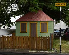 Close to all amenities ( Freddie) Tags: busstop stmaarten sintmaarten philipsburg dutchcaribbean thefriendlyisland