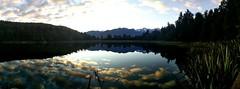 Lac Matheson vue sur Mont Cook
