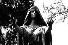 IMG_9068bw (Naturecamhd) Tags: blackandwhite bw sculpture grave graveyard statue canon bronx tomb gothic goth powershot mausoleum thebronx crypt gravemarker woodlawncemetery canonpowershotsx60hs sx60hs