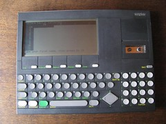 Convergent Technologies WorkSlate WK-100 (1982) (retrocomputers) Tags: notebook laptop 8bit 6800 spreadsheet retrocomputer vintagecomputer workslate
