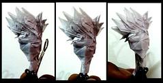 ORIGAMI KAKASHI (FACE) :P (Neelesh K) Tags: origami easy naruto kakashi