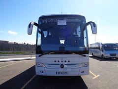 BF16XPY Gibson Executive in Blackpool (1 of 2) (j.a.sanderson) Tags: mercedes benz coach mercedesbenz gibson executive blackpool coaches tourismo bf16xpy
