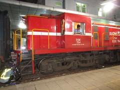 D13E-704 at Bien Hoa station, Vietnam (Barang Shkoot) Tags: station electric diesel engine machine rail railway loco vietnam staff passenger coupling coupler indochina alco vnr đườngsắt d13e dsvn