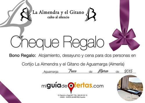 Cheque Regalo - miguiadeofertas