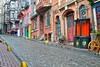 Fener (yonca60) Tags: street houses turkey casa calle ramp hill istanbul maison strabe balat colorfulhouses fener cobblestoned colorfulstreets