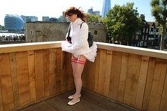 LONDON_010309 (Kira Dede, please comment my photos.) Tags: london stockings lingerie upskirt crossdresser 2015 kirad kiradede