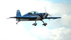 G-WVEN Extra EA.300 Extra Landing at Conington (David Russell UK) Tags: sport airplane airport aircraft aeroplane business vehicle peterborough extra aerobatic aerobatics aeros ea300 egsf gwven