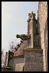 Chapelle Saint-Sbastien - Le Faout (DavidB1977) Tags: france film nikon bretagne fujifilm morbihan f4 chapelle gargouille argentique superia200 saintsbastien lefaout