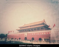 Photo accepted by Stockimo (vanya.bovajo) Tags: china city travel people tourism chinese beijing entrance tourist tourists forbidden mao must tiananmen portrair iphone iphonegraphy stockimo