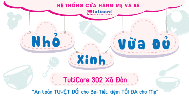 """[TutiCare 302 Xã Đàn] """"Nhỏ, Xinh, Vừa Đủ"""""""