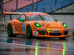 fast colors (d@neumi) Tags: auto cars car rain lumix racing panasonic porsche hockenheim motorsport hockenheimring mft rennstrecke autorennen