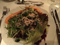 Salad to start (A. Wee) Tags: hotel switzerland salad resort zermatt   hotelalex