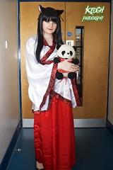 IMG_8721 (Neil Keogh Photography) Tags: china pink red white black anime female panda highheels cosplay chinese manga geisha teddybear kimono dressinggown cosplayer catears nightdress manchesteranimegamingcon2016
